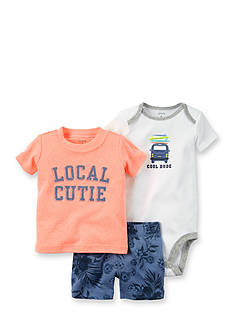 Carter's® 3-Piece 'Local Cutie' Shorts Set
