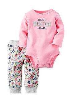 Carter's 2-Piece Neon Bodysuit and Pants Set