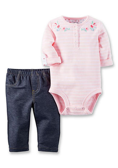 Carter's® 2-Piece Bodysuit and Jegging Set