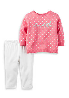Carter's® 2-Piece Little Sweater Set