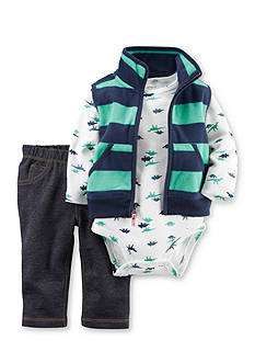 Carter's® 3-Piece Little Vest Set