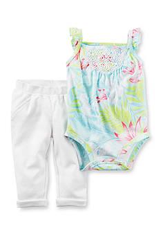 Carter's 2-Piece Hawaiian Bodysuit and Pants Set