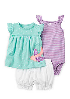 Carter's® 3-Piece Bodysuit and Diaper Cover Set