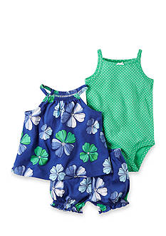 Carter's® 3-Piece Top, Bodysuit, and Diaper Cover Set
