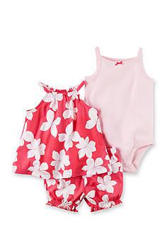 Carter's 3-Piece Top, Bodysuit, & Diaper Cover Set