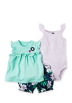Carter's® 3-Piece Neon Bodysuit and Diaper Cover Set