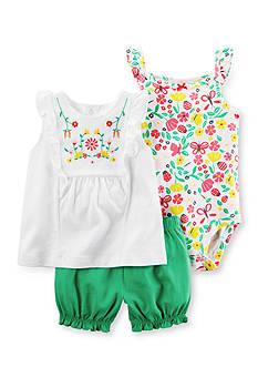 Carter's® 3-Piece Bubble Short Set
