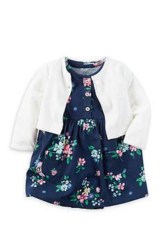 Carter's 2-Piece Dress and Cardigan Set