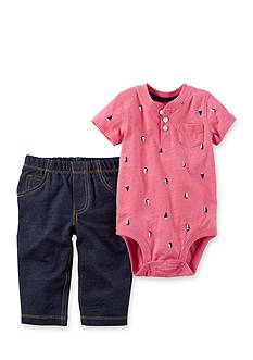 Carter's® 2-Piece Bodysuit and Pants Set