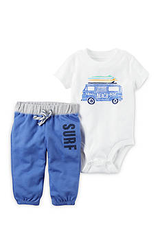 Carter's® 2-Piece Beach Van Bodysuit and Pants Set