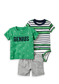 Carter's® 3-Piece Bodysuit and Shorts Set