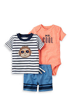 Carter's 3-Piece Bodysuit and Shorts Set