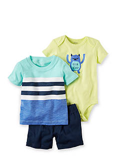 Carter's® 3-Piece Bodysuit & Short Set