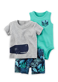 Carter's® 3-Piece Little Shorts Set