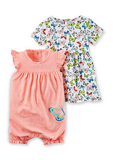Carter's® 2-Piece Dress and Romper Set