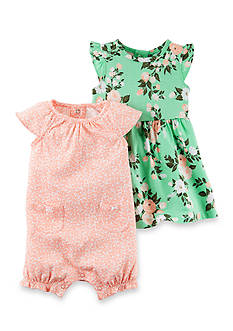 Carter's 2-Piece Dress and Romper Set