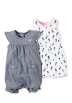 Carter's® 2-Piece Dress & Romper Set