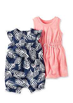 Carter's 2-Pack Dress and Romper Set