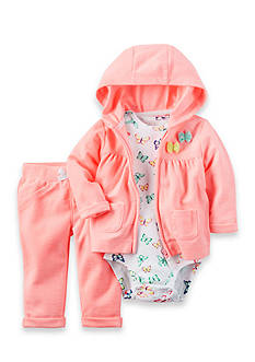 Carter's® 3-Piece Butterfly Onesie, Jacket, and Pants Set