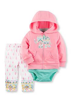 Carter's 3-Piece Elephant Jacket Set