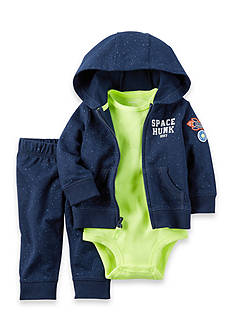 Carter's 3-Piece 'Space Hunk' Jacket, Onesie, and Pants Set