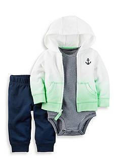 Carter's 3-Piece Little Anchor Jacket Set