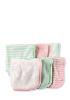 Carter's® 6-Pack Assorted Wash Cloths