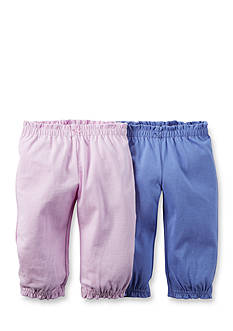 Carter's® 2-Pack Solid Knit Pants