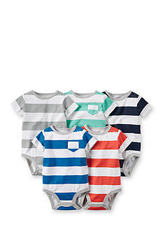 Carter's® 5-Pack Assorted Stripe Bodysuits