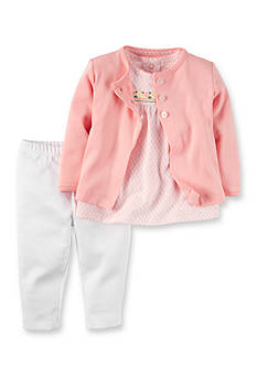 Carter's® 3-Piece Cardigan, Pants, and Shirt Set