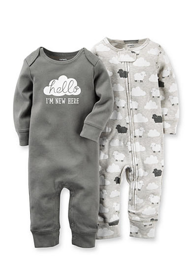 Carter's® 2-Pack Cloud Coveralls