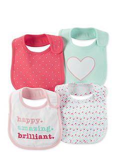Carter's® 4-Pack Teething Bibs