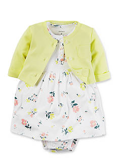 Carter's® 2-Piece Dress and Cardigan Set