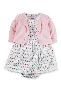 Carter's® 2-Piece Cardigan and Dress Set