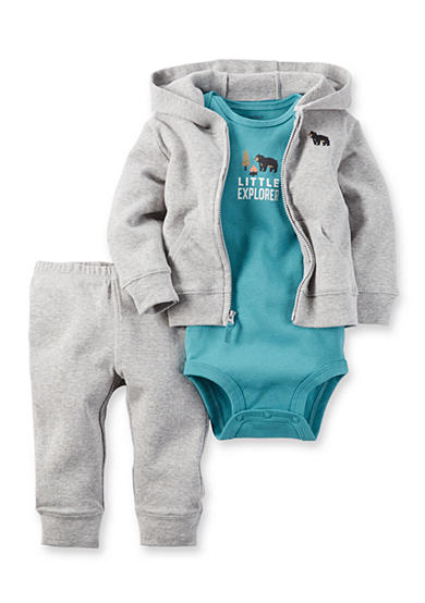 Carter's® 3-Piece Cardigan, Bodysuit, and Pants Set