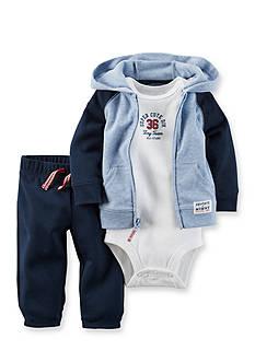Carter's® 3-Piece Cardigan, Bodysuit, and Pants Set