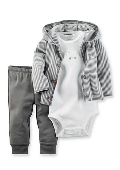 Carter's® 3-Piece Babysoft Cardigan Set