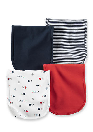 Carter's® 4-Pack Sport Burp Cloths