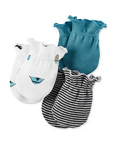 Carter's® 3-Pack Print Mittens
