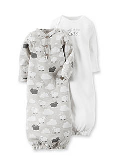 Carter's® 2-Pack 'I Woke Up This Cute' Lamb Gown Set