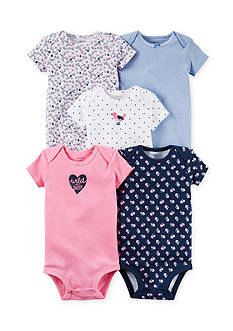 Carter's® 5-Pack Print Bodysuits