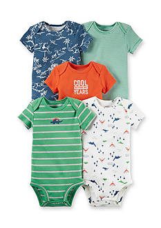 Carter's® 5-Pack Dino Bodysuits