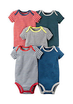 Carter's® 5-Pack Short-Sleeve Bodysuits