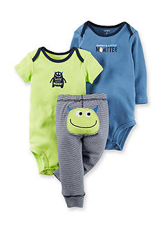 Carter's® 3-Piece Monster Pant Set