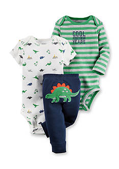 Carter's® 3-Piece 'Cool Beyond My Years' Dino Pant Set