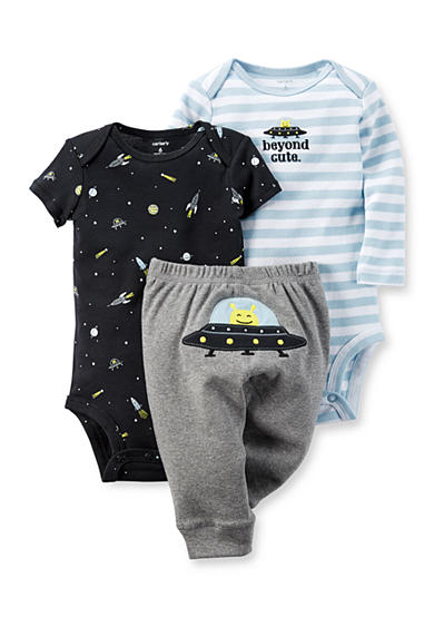 Carter's® 3-Piece Alien Bodysuit & Pants Set