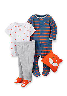 Carter's® 4-Piece Fox Sleep & Play