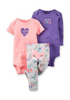 Carter's® 3-Piece Bodysuit and Pants Fox Set