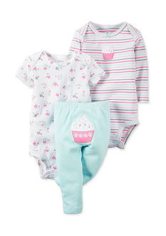 Carter's® 3-Piece Cupcake Pants Set