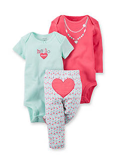 Carter's® 3-Piece 'Hello Cutie' Pant Set